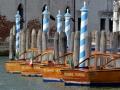 Boats in Venice, Italy.