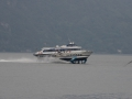 Hydrofoil on Lake Como. No idea why such a small lake needs such a fast boat.