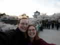 Around the Kanazawa castle / keep area.