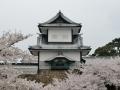 Kanazawa castle / keep.