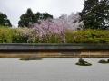 A famous rock garden in Kyoto.