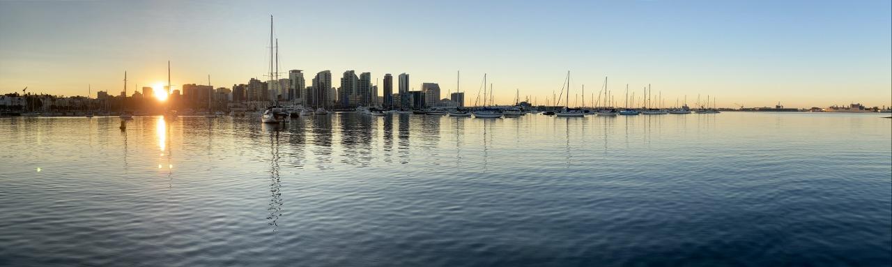 Sunrise, San Diego, CA