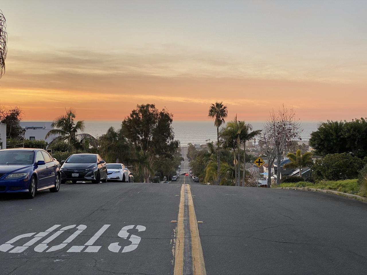 Sunset, Ocean Beach, CA