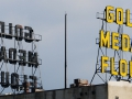 The old flower mill sign in Minneapolis.