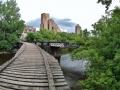 Wandering around Nicollet Island and found this neat bridge.