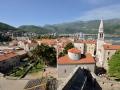 Budva, Montenegro, from the city walls.