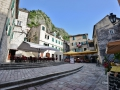 A square in Kotor, Montenegro. All the squares have lots of restaraunts to chill in.