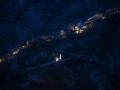 Kotor, Montengro at night.