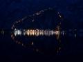 Kotor, Montenegro at night.