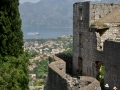 Kotor from the city walls.