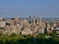 Montreal Skyline from Mount Royal.
