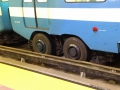The Montreal subway uses tires instead of rails and wheels. Super weird.