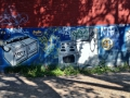 In Montreal, the graffitti is not only beautiful but also very useful!