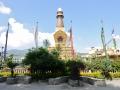 A stupa in Kathmandu.