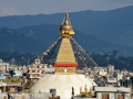 A stupa right outside our hotel. We had this view every single day!