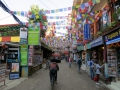 Thamel area of Kathmandu. Here, it's possible to get anything one wwoud want or need in Kathmandu.