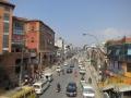 Traffic in Kathmandu.
