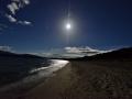 Moonrise near Te Anua