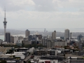 Downtown Auckland.