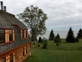 Naniboujou Lodge is super odd but has a great view of Lake Superior.