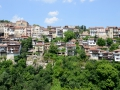 Veliko Tarnovo. The city is kind of built on steep hillsides so there's some interetesting homes!