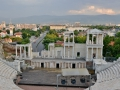 Plovdiv has a bunch of old ruins. The Ottomans tried to destroy most of them but some of the ruins were restored.