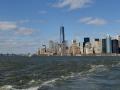 Hoboken (left), Manhattan (center), Brooklyn (right)