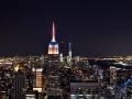 NYC Skyline from Rockafeller Center.