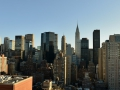 NYC Skyline from a hotel.