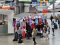 Get your authentic dress for Oktoberfest at the train station in Munich :).