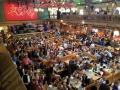 """One of the beer """"tents"""" at Oktoberfest."""