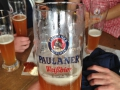 Delicious beer at Oktoberfest!