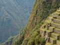 The Incans built on mountain sides in crazy steep areas. Unreal!