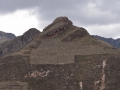Incan ruins in the Sacred Valley.