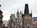 Prague Old City Skyline