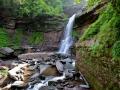 Lower Falls. Kaaterskill Falls, Catskills, NY.