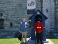 We visited the citadel in Quebec City. They had the quiet soldiers too.