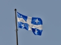 Quebec\'s flag.