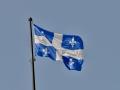 Quebec\'s flag.