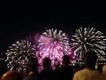Cool fireworks in Quebec City