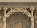 Beautiful stonework at a temple in Jaipur India.
