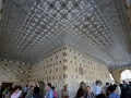 Hall of mirros in the Amber fort - sooo cool!