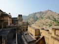 Soome other forts as viewed from the Amber fort in Jaipur.