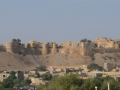 Jaisalmer fort. It's the only fort in Rajasthan that still has people living in it.