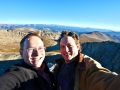 My bro and I on top of Mt. Evans in Colorado.