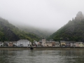 Town across from St. Goar in the Rhine River valley.
