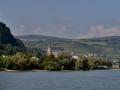 Town on the Rhine River.