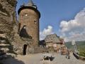 Castle that is now a hostel in Bakarak, Germany.