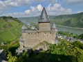 The castle / hostel in the Rhine River valley.