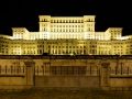 The palace in Bucharest. It' the second largest administration building in the world after the Pentagon.
